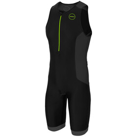 Zone3 Aquaflo Plus Trisuit Heren, black/grey/neon green